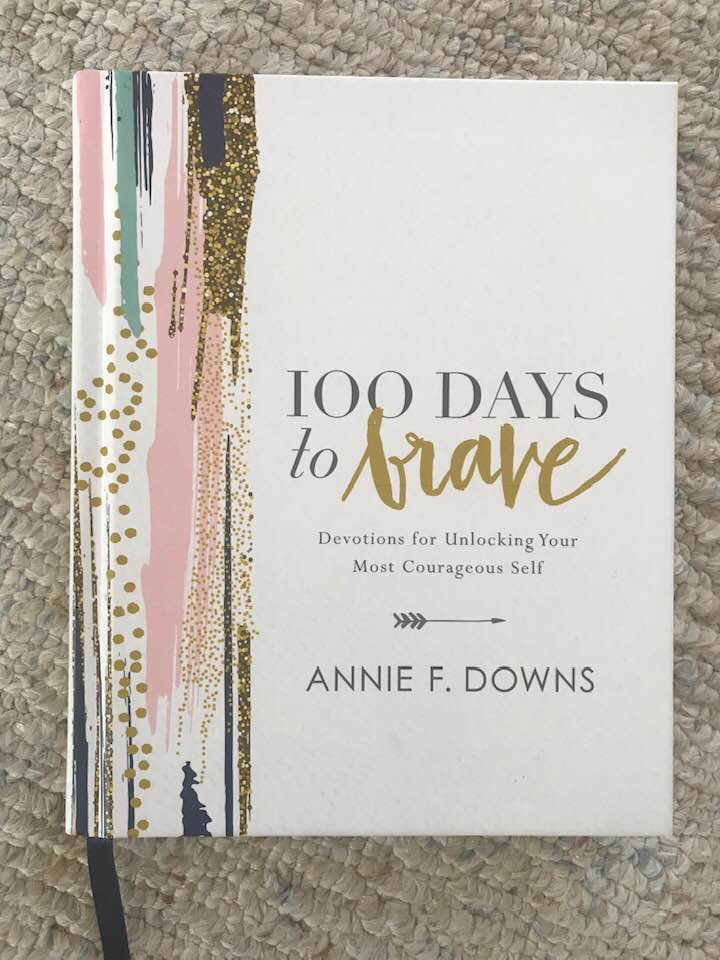 stephanie brouwer blog book recommendation 100 days to brave annie f. downs