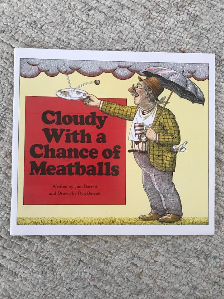 stephanie brouwer blog book recommendation cloudy with a chance of meatballs judi barrett ron barrett